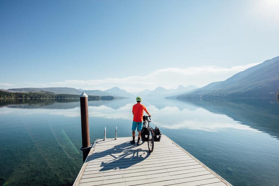 Visite au bord du lac